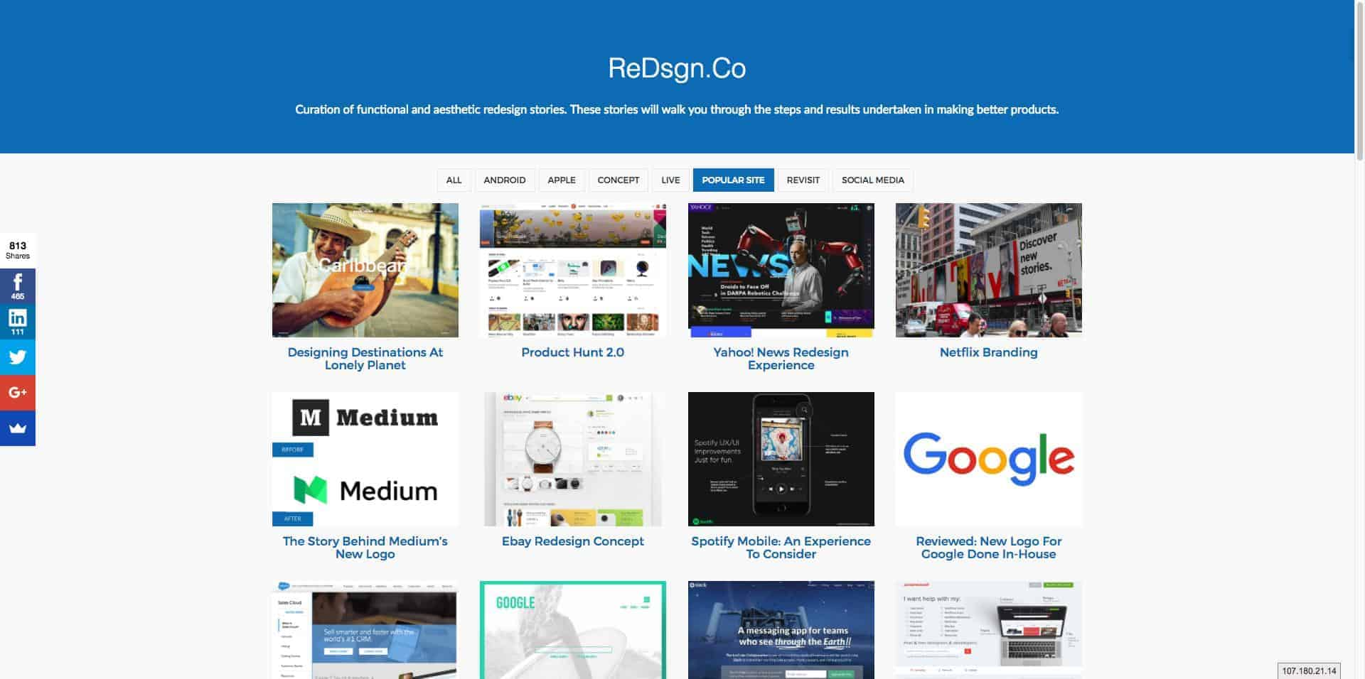 ReDsgn Co ReDesign Stories Worth Sharing