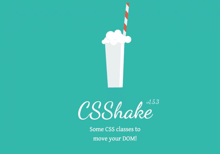 Css Shake : pour des effets qui secouent !