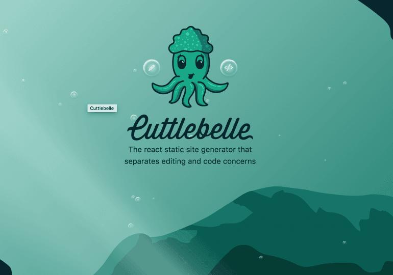 Cuttlebelle : une solution react pour genérer du contenu statique
