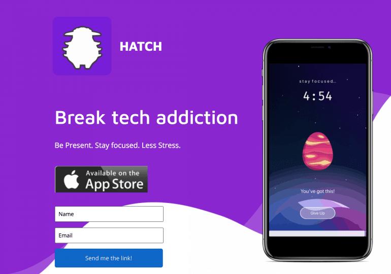 Restez concentrés grâce à l'app HATCH