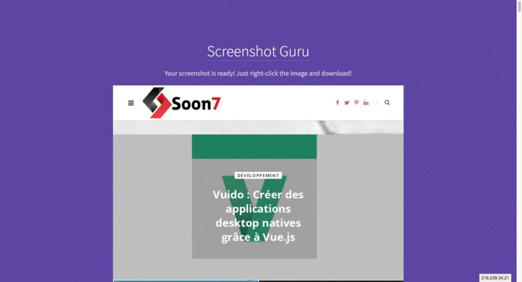 Screenshot Guru Online Screen Capture for Websites