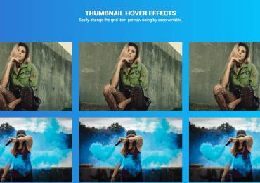 8 effets CSS au survol sur les miniatures