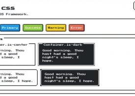 NES.css : pour des design rétro en pixel 8 bits