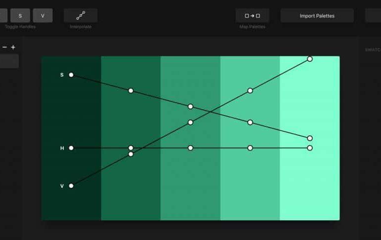 Créer une palette de couleurs cohérentes pour votre design UI avec Palette.app