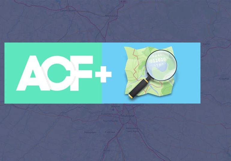 Un champ ACF OPen Street map, pour ne pas utiliser de clé API Google