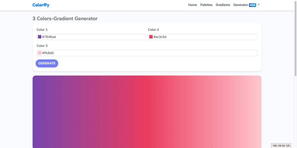 3 Colors Gradient Generator   Colorffy