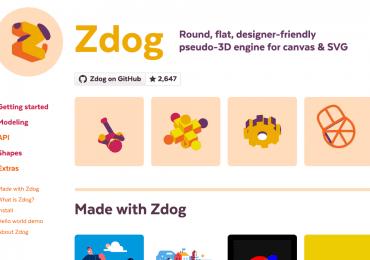 Zdog : moteur 3D JavaScript pour canvas et SVG