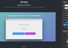 Screenzy : embellir vos captures d'écran